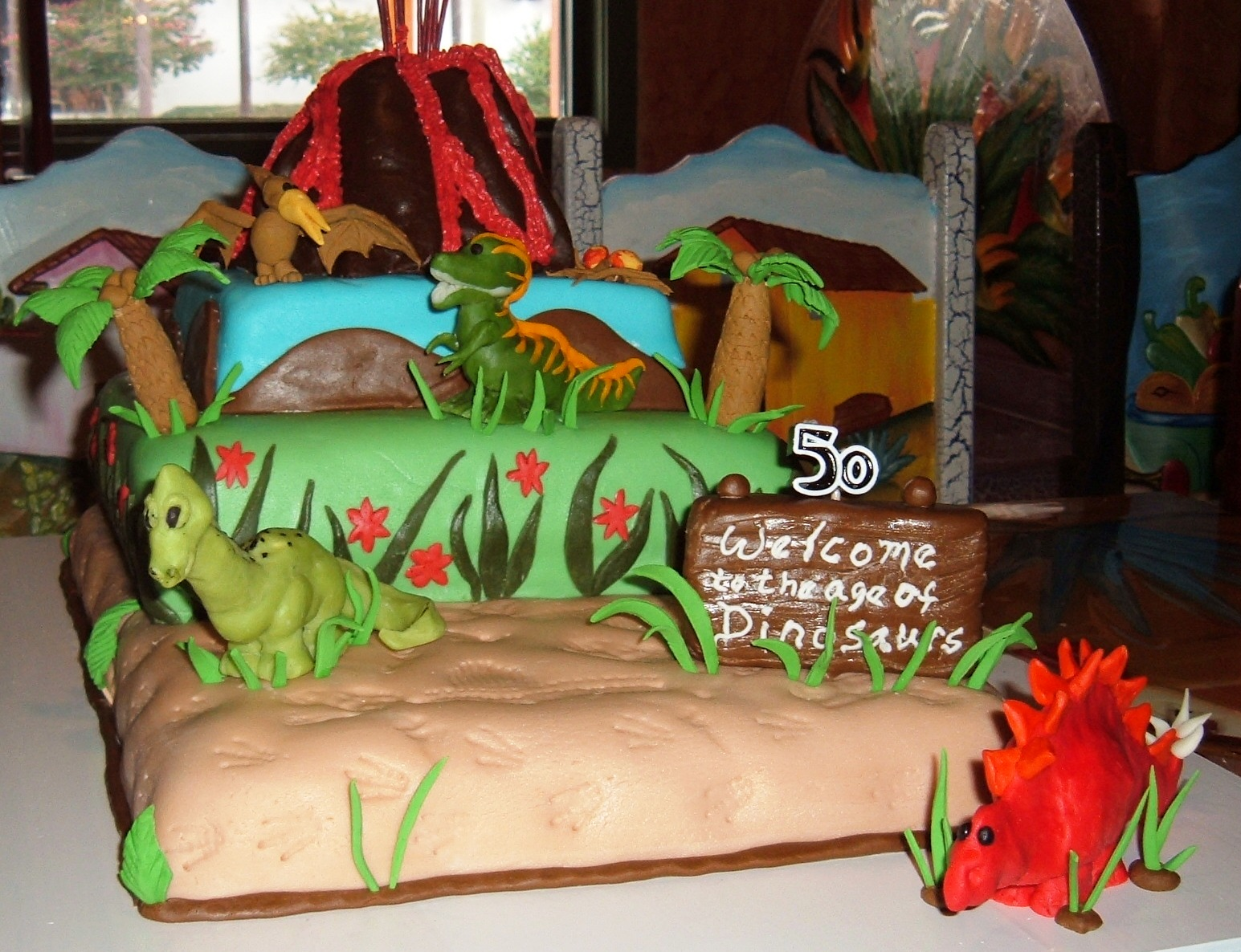 Maysie Maes Signature Cake Design Age Of Dinosaurs Birthday Cake