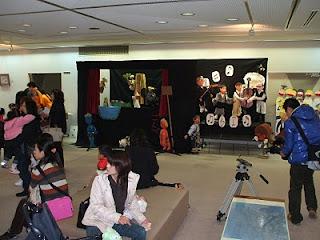 人形劇団ごんべ(藍住町)展示