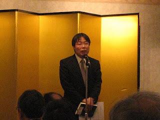 代表・石尾さんの挨拶