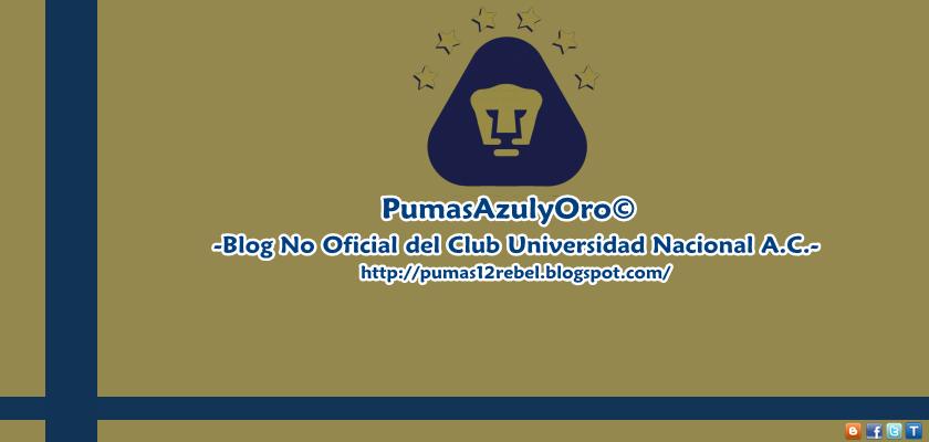 PumasAzulyOro