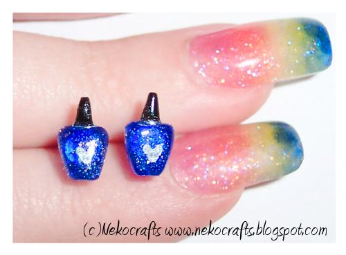 Neko 39 s nails october 2010 for Nail polish crafts