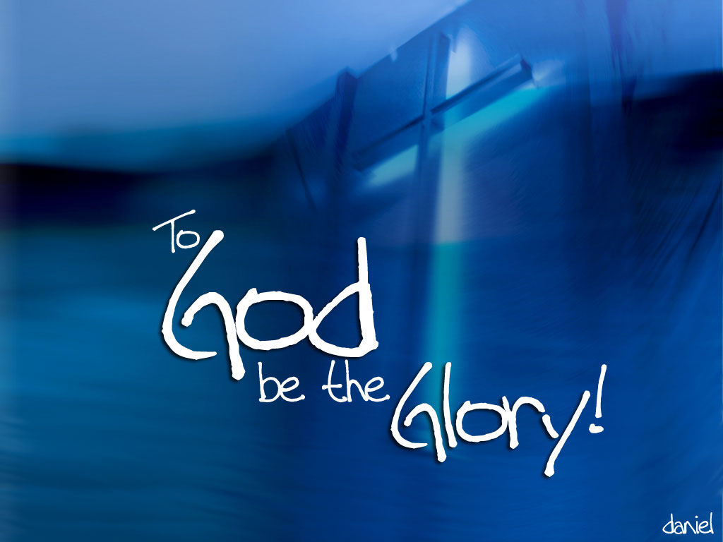 Be the Glory to God Christian Quotes