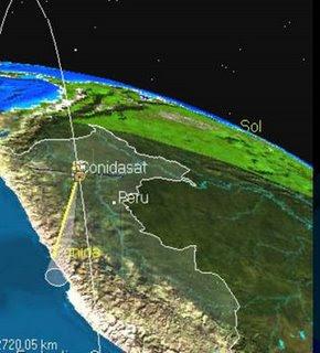 SATELITE DE COMUNICACIONES, DE OBSERVACION Y NANO SATELITES PERUANOS Satelite