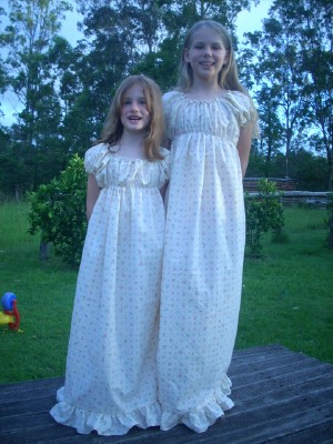 Old fashioned nightgown pattern 57