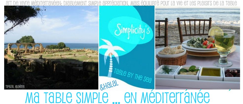 Simplicity's table by the sea - en français