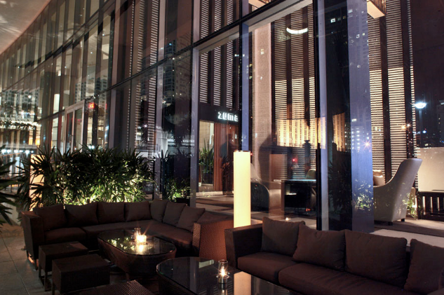 A212 restaurant zuma miami for Zuma miami terrace