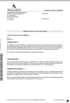 comunicación 100 euros madre trabajadora