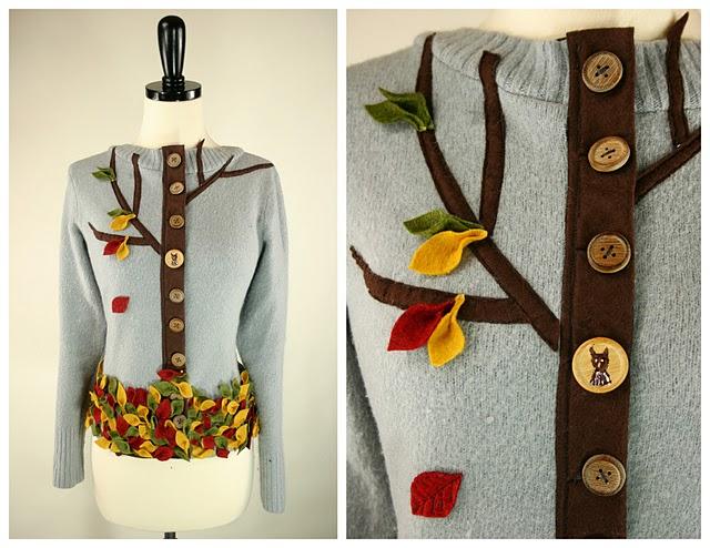 Креативный декор одежды  идеи 3
