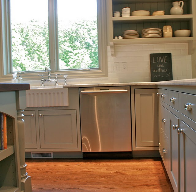 Kitchen Cabinets Colors: A Work In Progress: Kitchen Paint Reveal