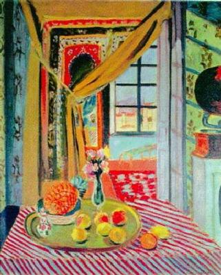 "henri matisse ""the window"" france 1916 The window by french artist henri matisse (1916) oil on canvas the window by french artist henri matisse (1916) oil on canvas ."