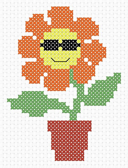 Cross Stitch Addict FREE Cross Stitch Pattern 'Cool' Unique Cool Cross Stitch Patterns