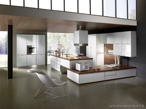 Marzua s71 cocina en vidrio del fabricante italiano for Las arredamenti