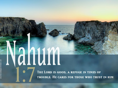 Wallpaper Nahum 1:7