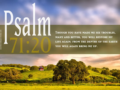 Wallpaper Psalm 71:20