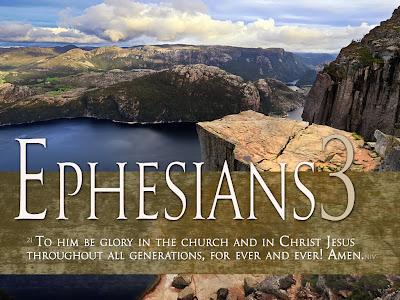 Ephesians 3:21 Wallpaper