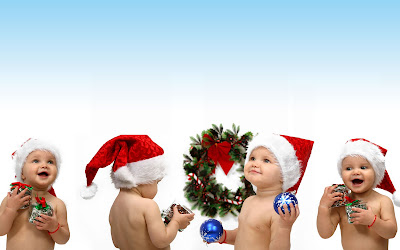 Christmas Babies Picture