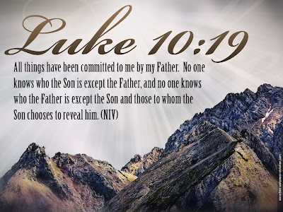 Luke 10:19 Desktop Bible Verse