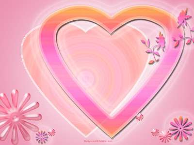 Pink Valentine Heart Background