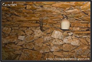 Botijo en Construcción Piedra seca