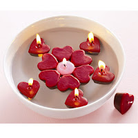 Valentine Floating Candles