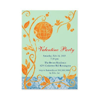 Valentines Day Party Invitation Cards