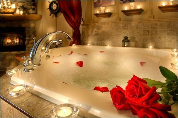 2012 valentine 39 s day ideas romantic bath ideas romantic for Bathroom romance photos