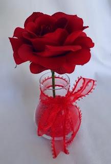 Handmade Valentines Day Flower Gift