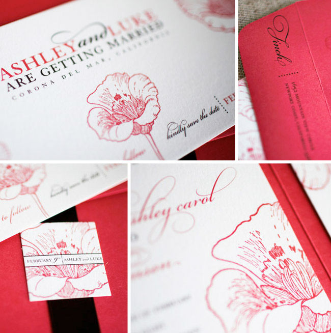 Valentine Wedding Invitations