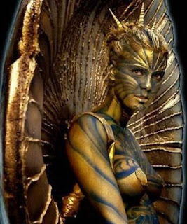 Good Design of Body Painting