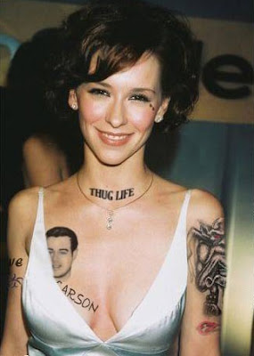 Over the years tattoos have caught rage with Hollywood celebrities