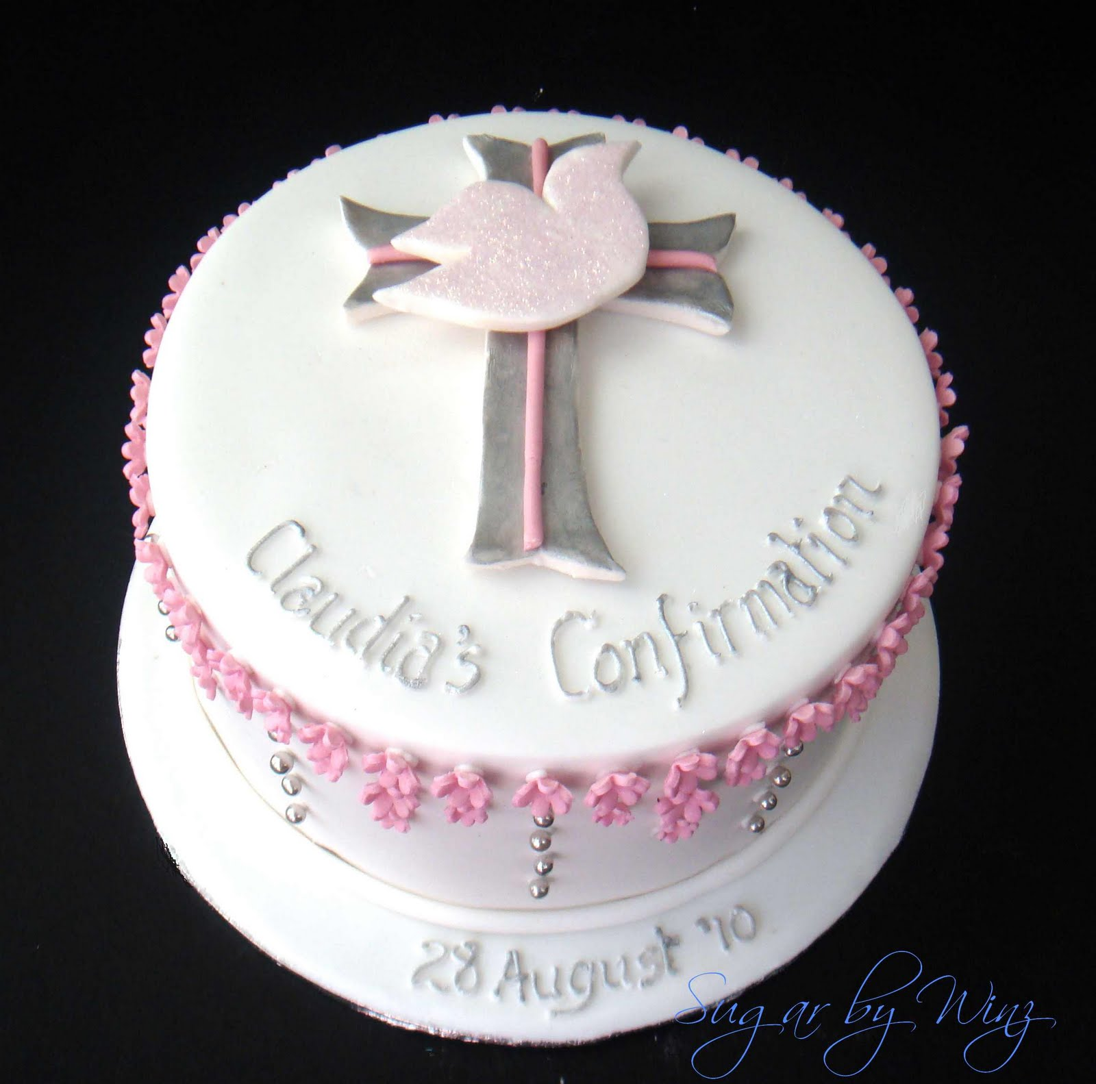 confirmation cake decorating ideas