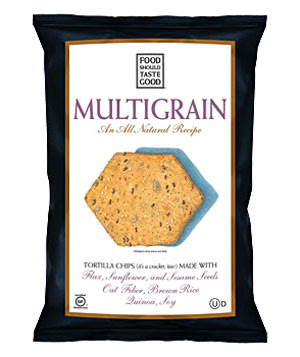 ... newest snack obsession is Food Should Taste Good's multigrain chips