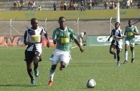 Jogo entre o Ferroviario e Desportivo do Maputo