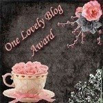 One Lovely Blog Award Premio