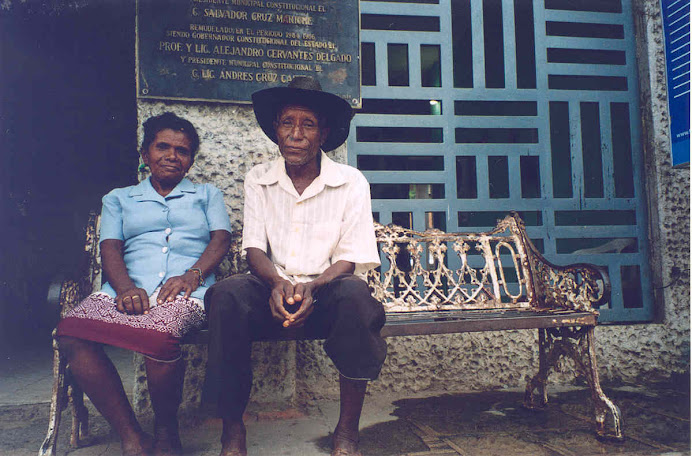Afro-Mexican couple of Cuaji, Guerrero.