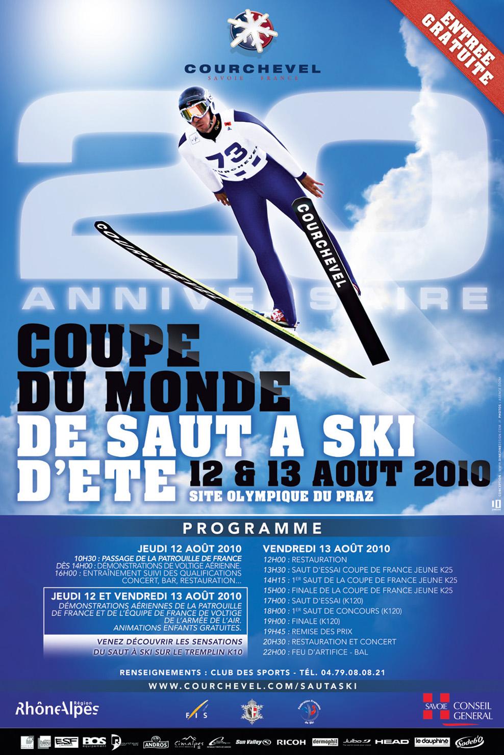Le blog de fab saut skis coupe du monde de saut skis d 39 t courchevel 2010 13 08 2010 - Coupe du monde de ski courchevel ...