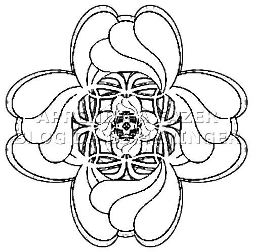 Кельтский орнамент от лу херингер