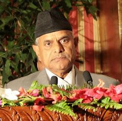 Dr. Ram Baran Yadav President of NEPAL