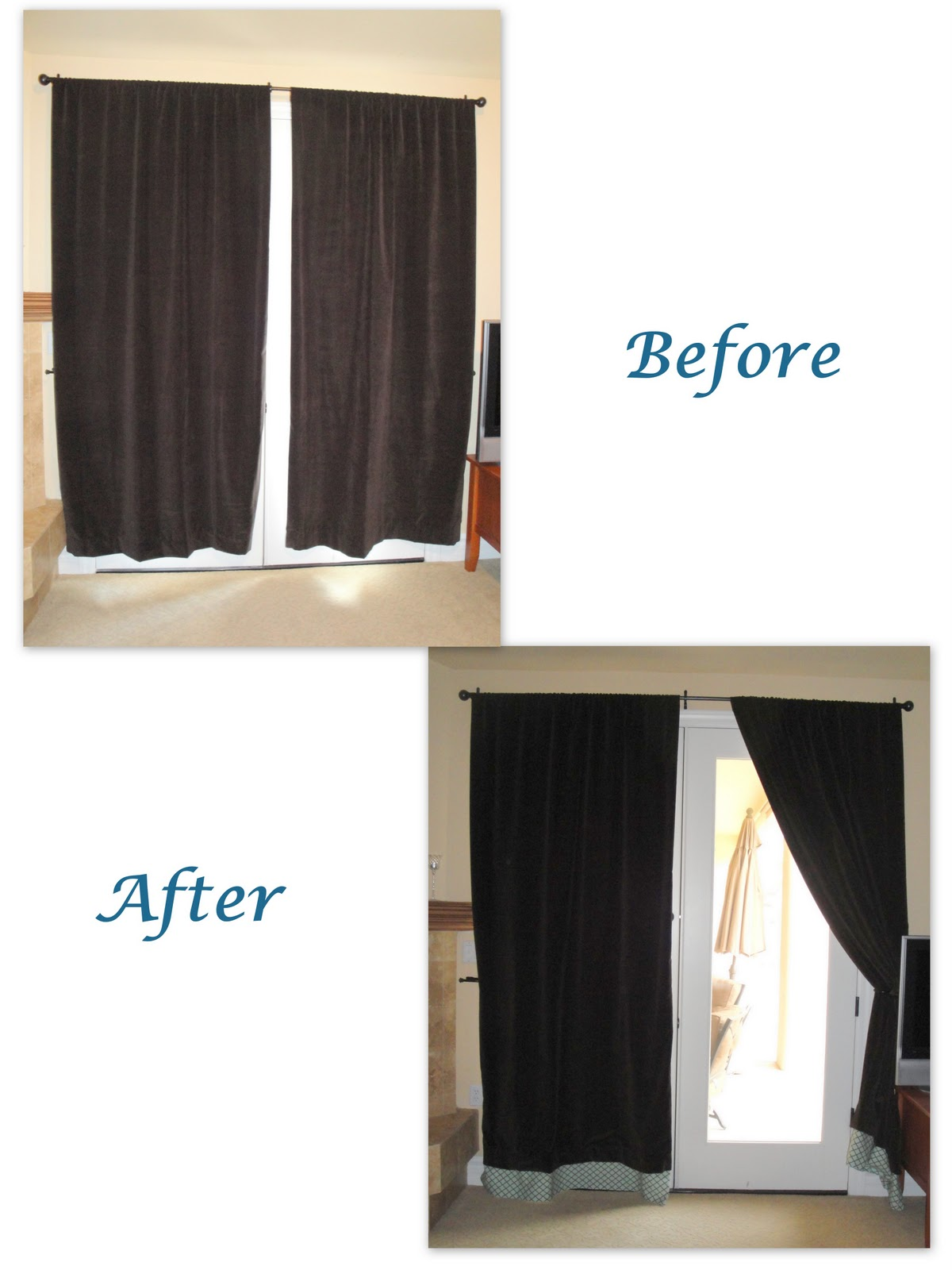 Making the Moment Matter: Adding length to curtains with Hem Tape