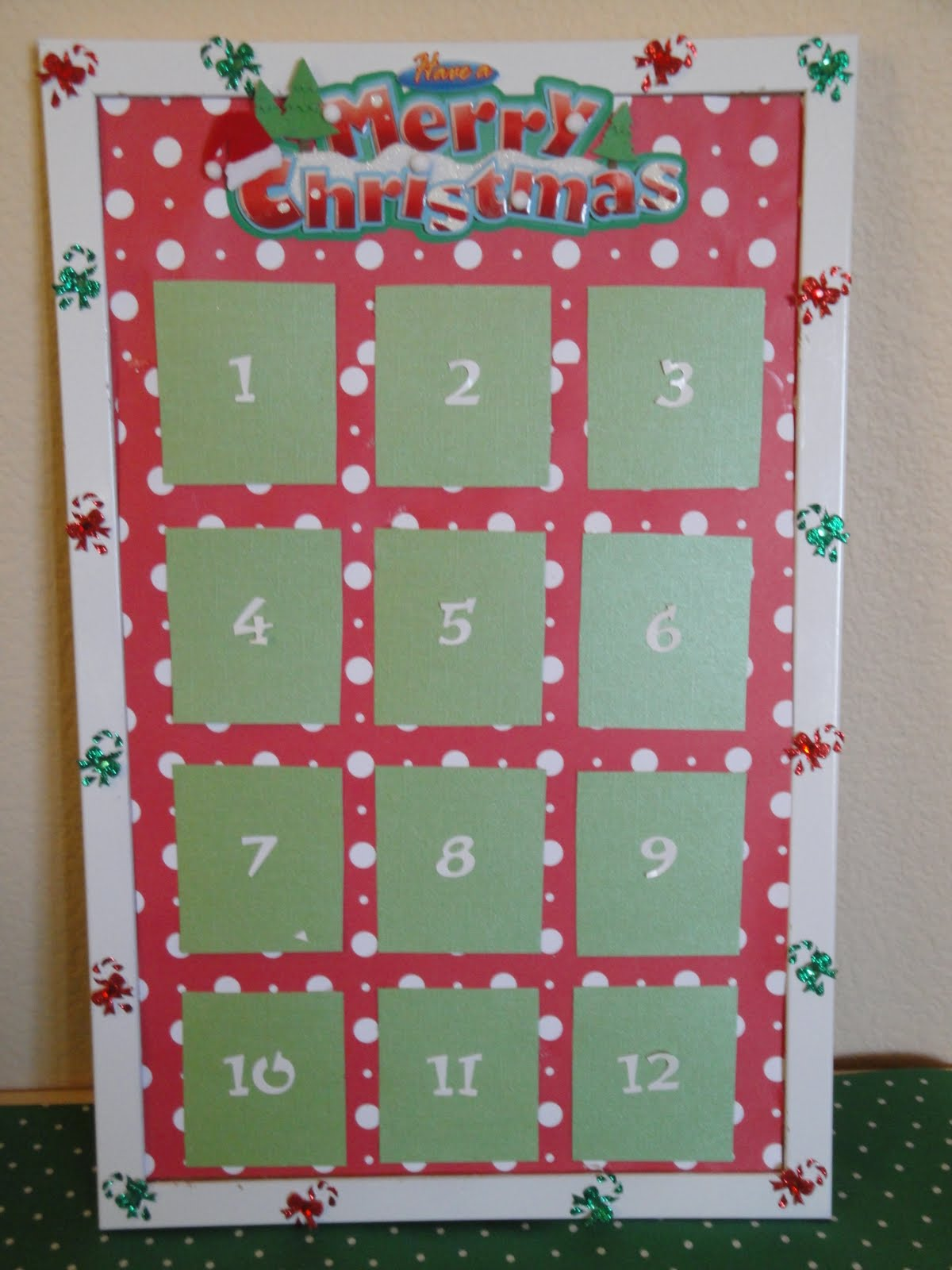 Making the moment matter 12 days of christmas bulletin board for 12 days of christmas door decoration