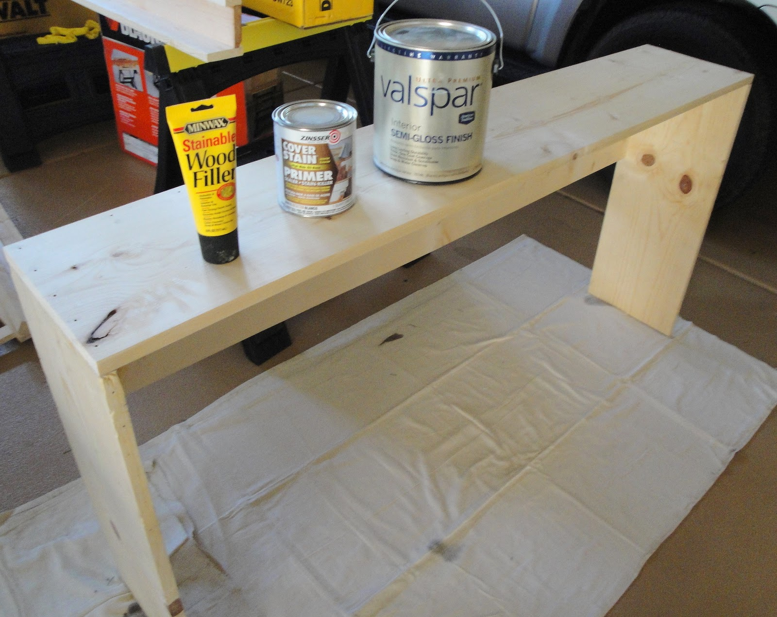 Making The Moment Matter Easy To Build Console Table Ana White - How to build a console table
