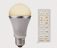 sharp ampoule led economie energie