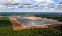 Lieberose parc centrale solaire allemagne juwi first solar
