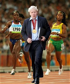 Boris Johnson putting his worst foot forward