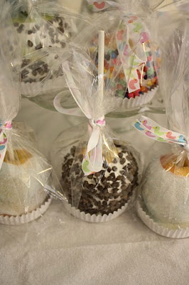 verbena pastries chic baby shower favors