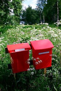 Kesäiset postilaatikot - Kuvatoimisto Albumi - www.albumi.fi