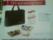 GET YOUR TUPPERWARE BRANDS STARTER KIT AT RM60 ONLY