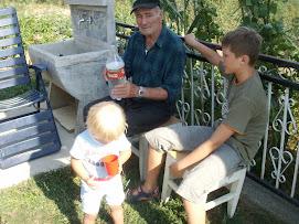 Did Ivo sa malim Lukom i Mariom