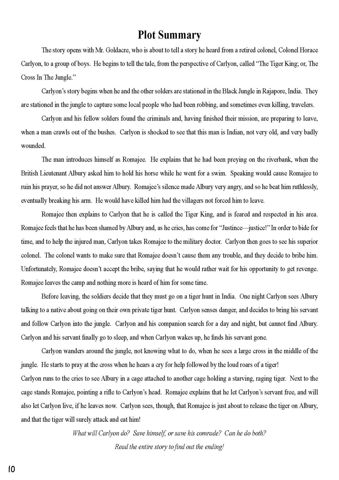 plot summary of the child by tiger Read tiger eyes (2013) synopsis, storyline and movie plot summary on fandango.