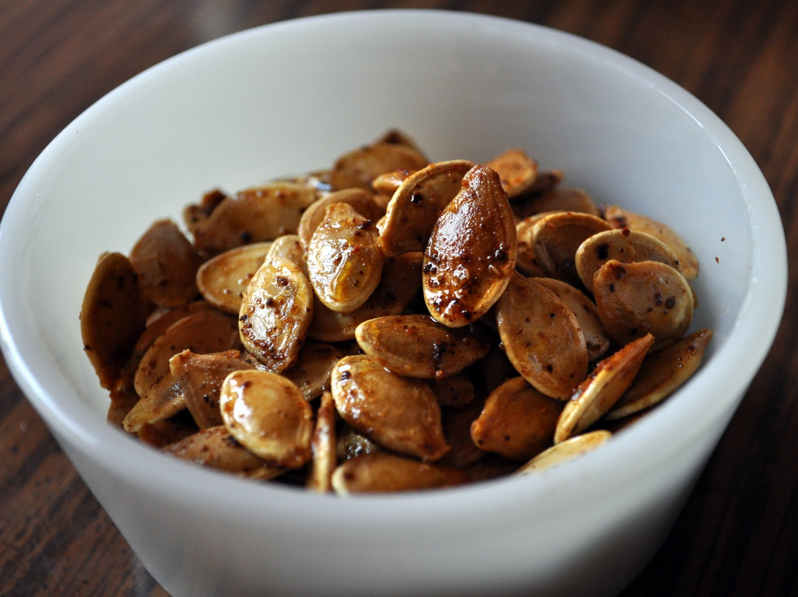 Our Italian Kitchen: Cinnamon Sugar and Spicy Pumpkin Seeds